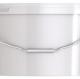 Ведро пластиковое овальное с крышкой JETO 110