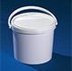 Ведро пластиковое круглое с крышкой JET 23