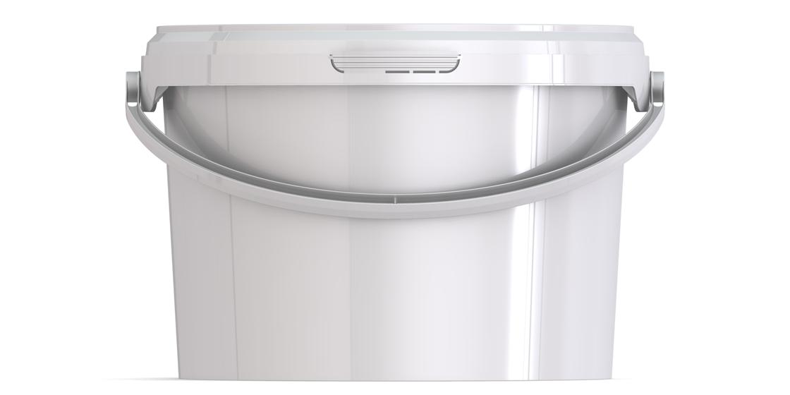 Ведро пластиковое круглое с крышкой JET 30 3,0 л
