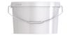 Ведро пластиковое овальное с крышкой JETO 110P 11,30 л