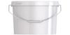 Ведро пластиковое овальное с крышкой JETO 125P 12,80 л