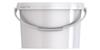 Ведро пластиковое овальное с крышкой JETO 35 3,4 л
