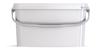 Ведро пластиковое прямоугольное с крышкой JETR 62 6,8 л