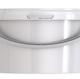 Ведро пластиковое круглое с крышкой JET 25