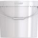 Ведро пластиковое круглое с крышкой JET+ 177