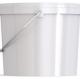 Ведро пластиковое овальное с крышкой JETO 110P