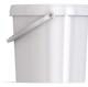 Ведро пластиковое овальное с крышкой JETO 55